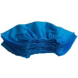 Antideslizante Non-Skid tejida de polipropileno personalizadas desechables Cubrezapatos Azul Cubierta