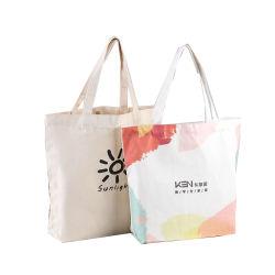 Playa de viajes Bolsa de tela Bolso de mujer Moda Mujer tela algodón Bolso Bolso de compras para tiendas de comestibles