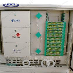 La fibre optique de la distribution trois opérateurs dans un châssis