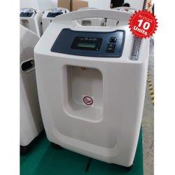 Generatore di ossigeno portatile con concentratore professionale di O2 da 10 l a stock con Nebulizzatore