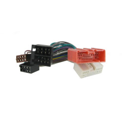 DVD плеер динамик ISO жгута проводов с помощью кабеля RCA
