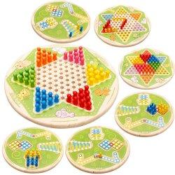 Custom оригинальность дизайна по вопросам образования в таблице игра китайский шашки самолет шахматы деревянные игрушки