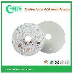مجموعة لوحة الدائرة الكهربائية المصنوعة من الألومنيوم PCB الأساسي، والتي تفتت الحرارة العالية 94V0 لوحة مصباح LED