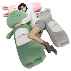 2020 una tira larga de la caja de juguetes de peluche animal mantenga una almohada, el regalo de Navidad, Regalos para niños