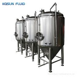 1000L из нержавеющей стали Inox рубашку пиво с коническими Fermentor ферментационный чан