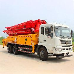 Zoomlion 콘크리트를 사용한 건설용 트럭 장착 콘크리트 펌프 펌프 트럭
