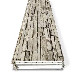 Material de construção de casas pré-fabricado à prova de fogo de 16 mm e material de construção à prova de água Isolamento térmico decoração exterior fábrica de placas de parede em poliuretano