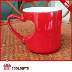 Forme de coeur tasse à café en céramique fixés pour la Saint Valentin cadeau