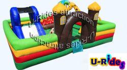 Parque infantil inflável infantil barata infláveis combo insufláveis deslize para venda