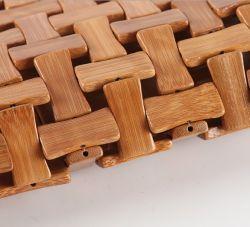 Bambu artesanal capa do assento