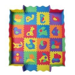 حصيرة رغوة الأحجية لألعاب الأطفال 29.5*29.5 سم حصيرة رغوة