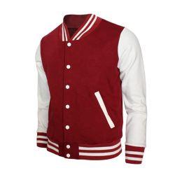 Низкая цена моды пустым вышивка пользовательский дизайн Baseball Jacket