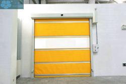 Potência à prova de pó 220V 45mm reforçar a viga da estrutura metálica de PVC de alta velocidade da porta do obturador de segurança