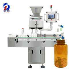 8 Weg-elektrische automatische Schwingung pharmazeutische Softgel abfüllende Verpackungs-Gegentablette-Flaschen-füllende Kapsel-Pille, die Maschine zählt