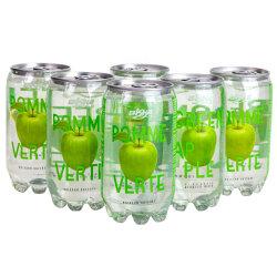 350ml PET peuvent boire du jus de pomme gazeuse Soda