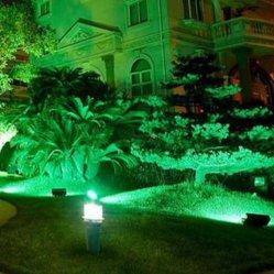 알루미늄 합금 230V 18W 지하/지하/홍수/정원/Landcape LED 조명 270LED RGB 원격 제어 <Sb8025>
