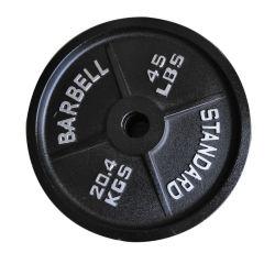 Hg Olymp de hierro de estilo de la placa de peso/Barra pesa