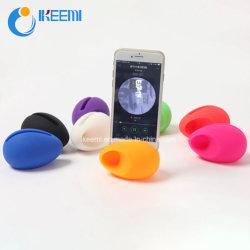 Altavoz soporte para teléfono celular de silicona
