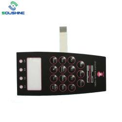 China-Fabrik-UVwiderstand prägte Tasten-Membranen-Kennsatz-Tastaturblock mit Digital-Drucken