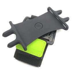 Поворачиваемый универсальный держатель для мобильных ПК с наручным ремешком при работающем двигателе браслете держатель телефона