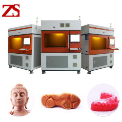 SLA Zs 520 Resina 3D impressora perfeita para joalharia Cera Dentária