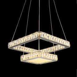 Conduit de luxe moderne décoration en verre en Cristal Pendentif plafond Pendentif Hôtel ACCUEIL Lustre