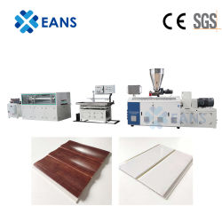 Sj55/110 PVC 천장 시트 벽 패널 압출기 기계 제작 선