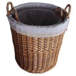 Willow Wicker Storage フルーツフラワーバスケット