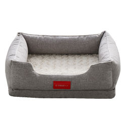 Cama plegable de espuma con memoria grande con cojín de perro con Zipper Nuevo Cama de mascotas Soft Dog Sofa Nest Equipo para dormir de mascotas Gato Nido al por mayor OEM