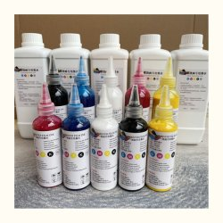 New Vivid Color Cymkw PET Film White Transfer Pigment DTF(새로운 비비드 컬러 심코프 PET 필름 화이트 전송 안료 DTF 잉크 - 중국에서 만든 티셔츠 전송 인쇄