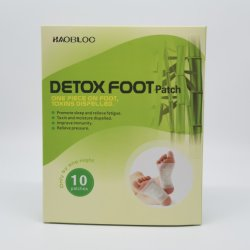 صينية الخل الخيزران منصة نوم Detox Foot Pad Detox