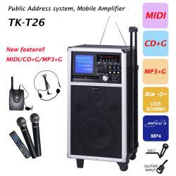 Système de sonorisation, CDG Player TK-T26