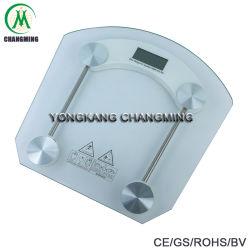 Plataforma de Cristal transparente templado Báscula de baño