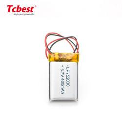 Высокое качество литий-ионный полимерный аккумулятор 400 Ма * ч Lp752030 3,7 752030 Li-Po батарея для вертолета RC катере/игрушки
