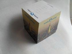 Reciclar el bloque de papel personalizados Nota Cube