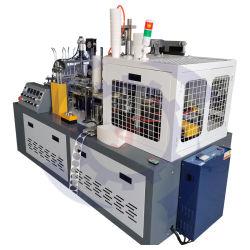 Volledig automatische machine voor het maken van bekers voor eenmalig gebruik met middensnelheid