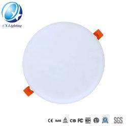 Размер отверстия свободного Безрамные Круглые светодиодные лампы панели 10W 15W 22W 32W потолочные панели
