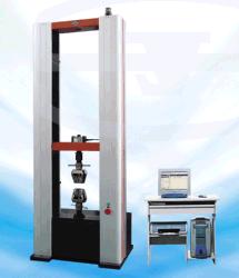 CER zugelassene elektronische Universalprüfungs-MASCHINENZEIT WDW-10E im Metall und in der Gummi- u. Kunststoffindustrie