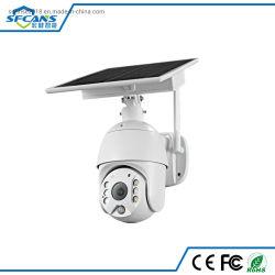 macchina fotografica impermeabile PTZ della cupola di velocità visione notturna bidirezionale esterna di sorveglianza della videocamera di sicurezza di 4G 1080P di audio