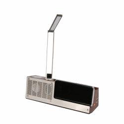 Drahtloses Lautsprecher-Dock mit Tisch-Lampe, schneller drahtloser Aufladeeinheit und USB-Ausgabe