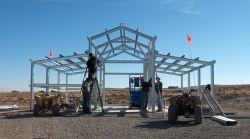 컨테이너용 핫-DIP Galvanized Industrial Light Steel Structure Prepreted Warehouse 집