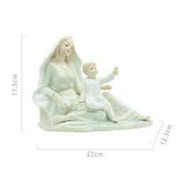 종교적인 선물 성자 Anne 동상 작은 조상 천주교도 선물