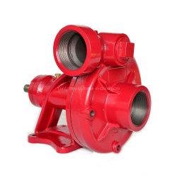 ベルトの車輪の水ポンプを搭載する鋳鉄ポンプ