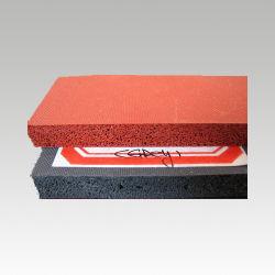 Strato Closed della gomma di gomma piuma del silicone della stuoia di ginnastica della stuoia del pavimento di Ruuber della spugna del silicone delle cellule