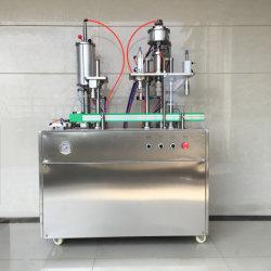 Expédition rapide Semi-Auto Machine de remplissage de la Chine les fabricants de l'aérosol