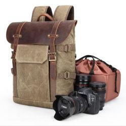 Câmara com lentes Vintage exterior elegante mochila Metropolitan Saco de câmera de vídeo