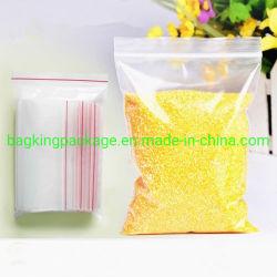 Embalaje Bolsa Ziplock LDPE/bolsa con cierre de cremallera/bolsa con cierre zip