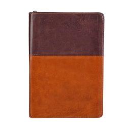Het uitstekende Notitieboekje van de Ontwerper van de Reis van het Leer A5 met Ritssluiting