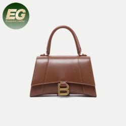 Nuevos populares Designer Handbag B hebilla de oro reloj de arena Bolso Bolsa cuadrada de gran capacidad grande y mediados de dos tamaños el GGA6006