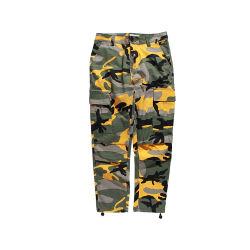 La carga de camuflaje militar Moda Mujer Pantalones Hip Hop Danza pantalones de camuflaje Femme Pantalón Jean desgaste de la calle